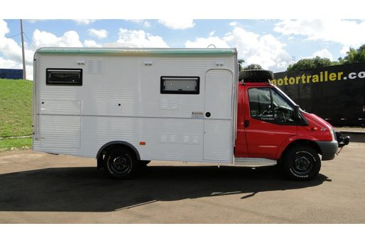 Itutrailer ford transit 4X4 2