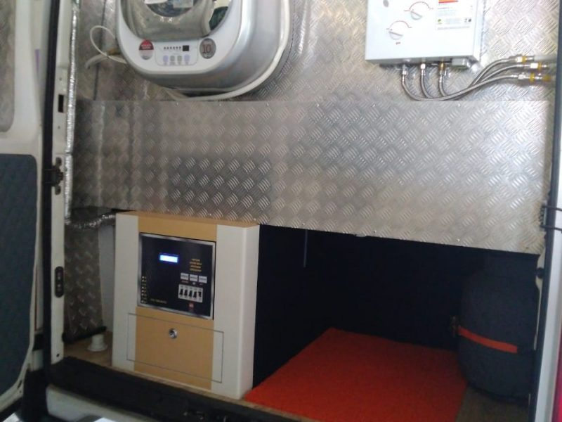 Motor-home Chassi Iveco Daily 2011 -13